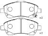 Pastillas de freno Brake Pad Set:04465-05130