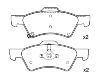 Brake Pad Set:05019803AA